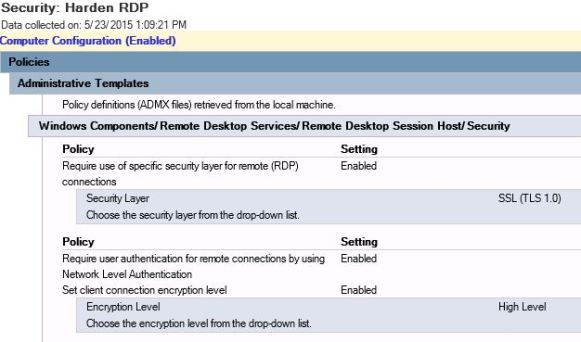 SetRDPSecurity_GPO